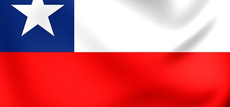 Chile Flag 3